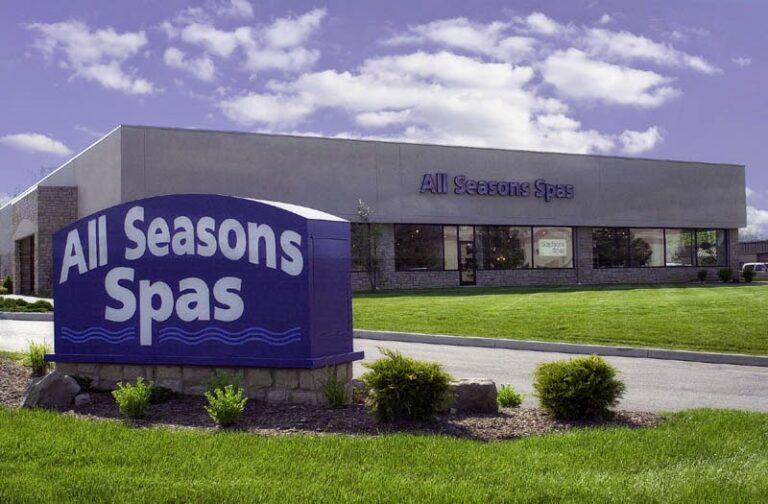 all seasons spas building - All Seasons Spas