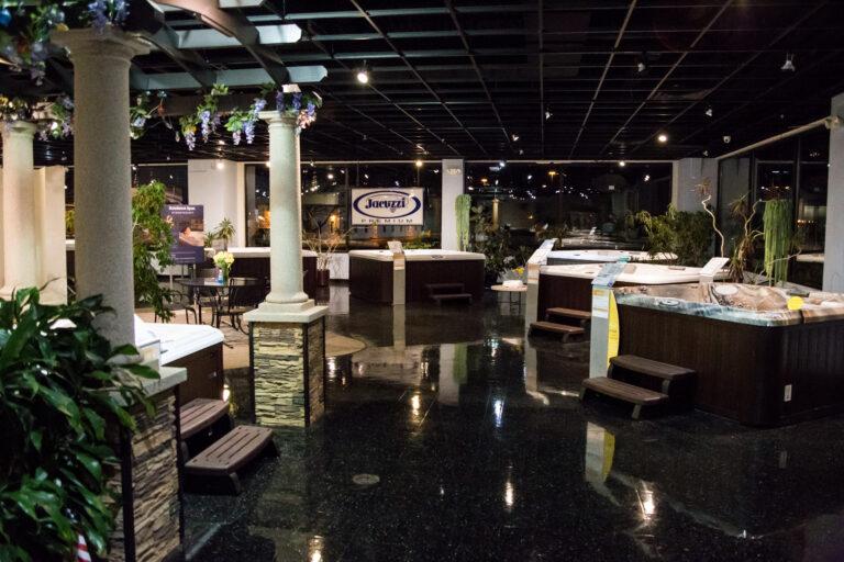 all seasons spas showroom2 - All Seasons Spas