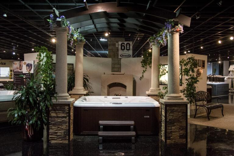all seasons spas showroom3 - All Seasons Spas